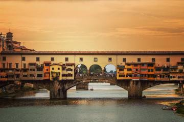 Famous bridge in Florence.