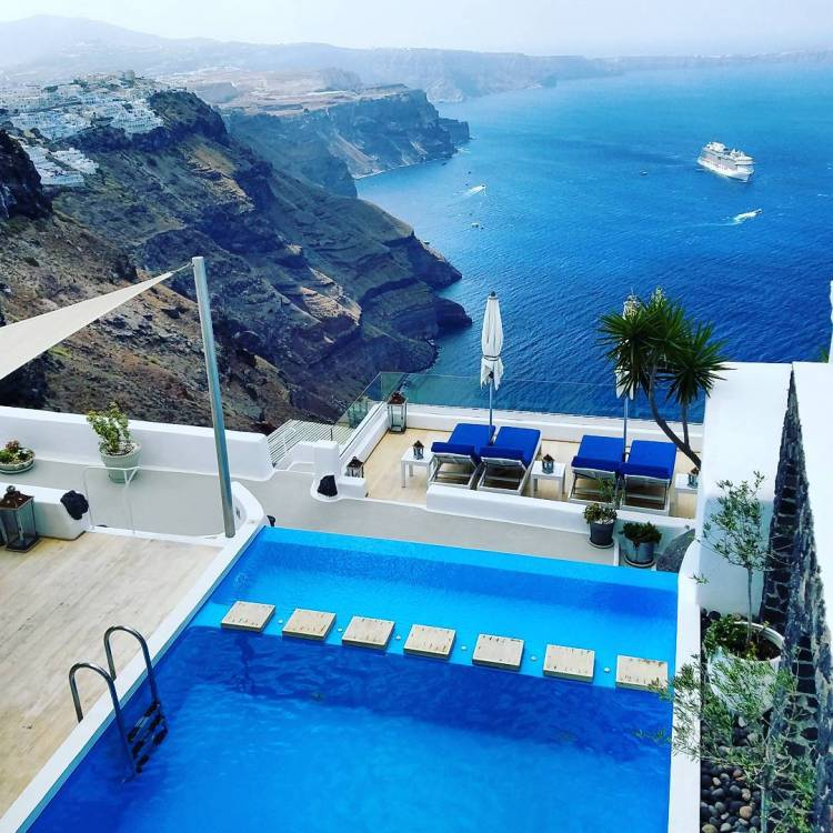 Beautiful view @iconicsantorini, Iconic Santorini, a boutique cave hotel