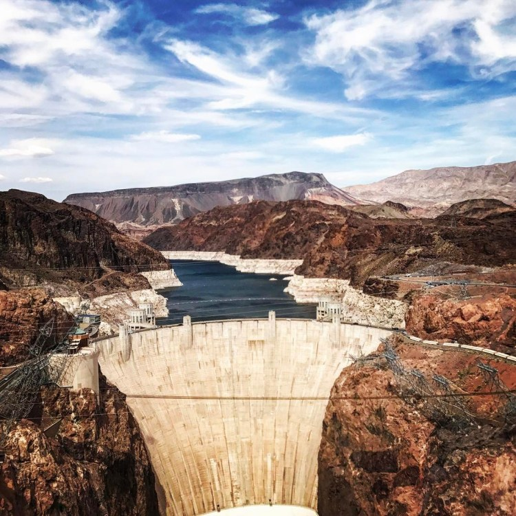 What does a fish say when it swims into a wall? Dam, Hoover Dam, Nevada / Arizona State Line