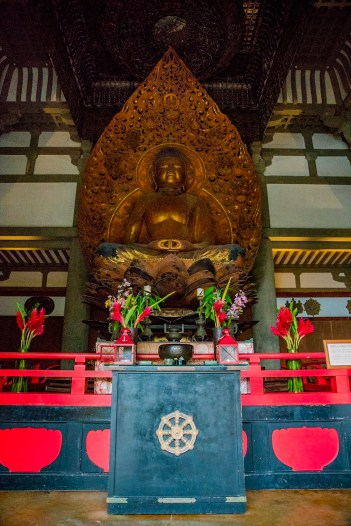 Statue of the Lotus Buddha