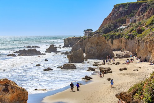 View of El Matador State Park, LA