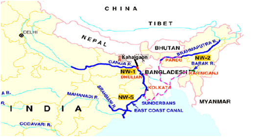 Barges with fly ash set sail from Ganga to Brahmaputra