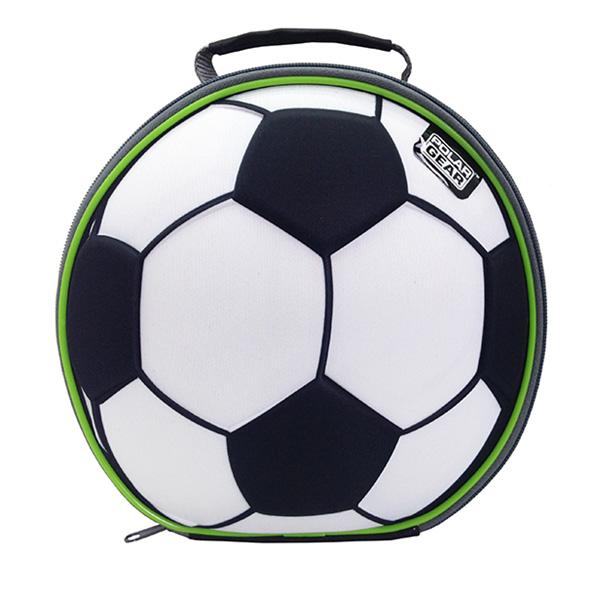 Minikøletaske som fodbold - madkasse med køl