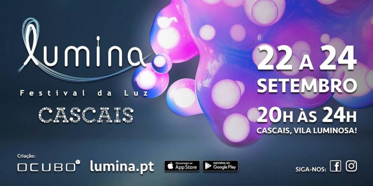 The Lumina Festival in Cascais this weekend is a must