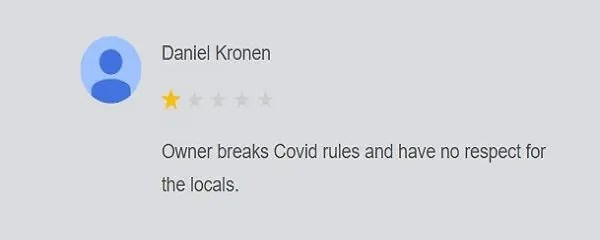 Tings Lisbon - Google Review - Daniel Kronen