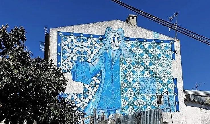 Tings Street Art picks in Lisbon: Bairro Pardre Cruz