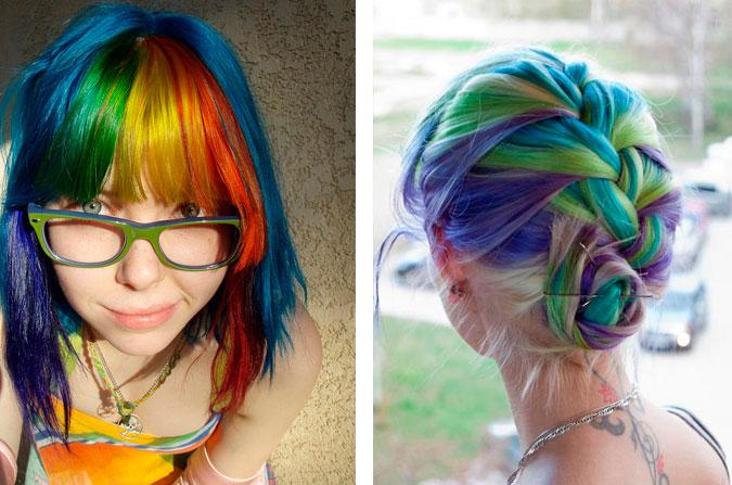 Mulherzinha: Onde Comprar Tintas Fantasia - Cabelos Coloridos