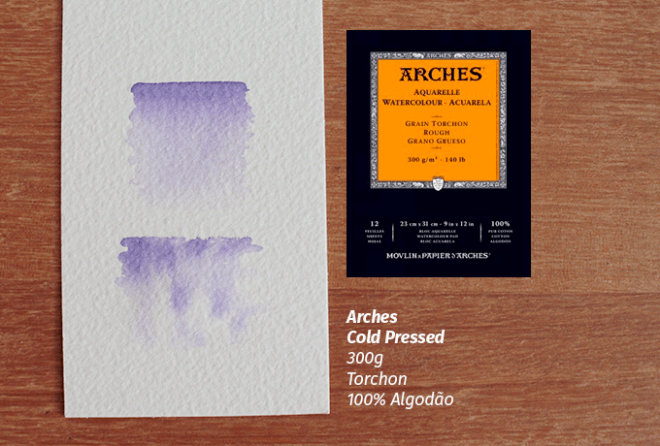 Arches 300g Coldpress Torchon