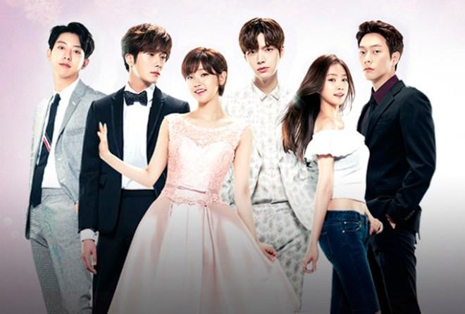 Seo-woo, Ji-Woon, Ha-Won, Hyun-min, Park Hye-ji e Lee Yoon-sung