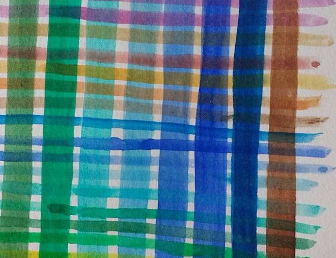 Curso de aquarela - cores