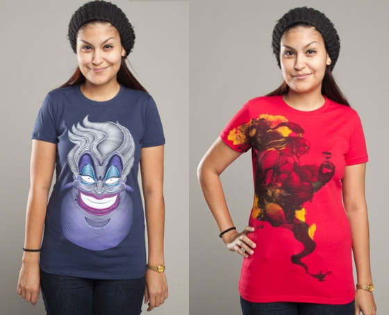 Threadless Disney Villains