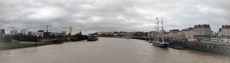 Nantes e o Rio Loire.