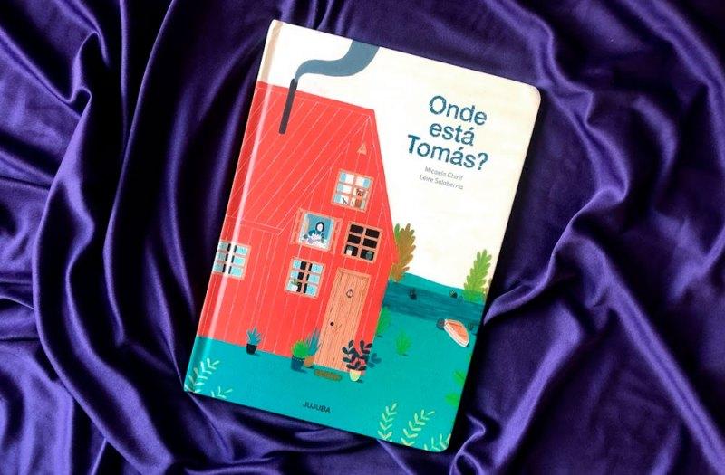 Onde está Tomás? - livros para crianças de 1 ano