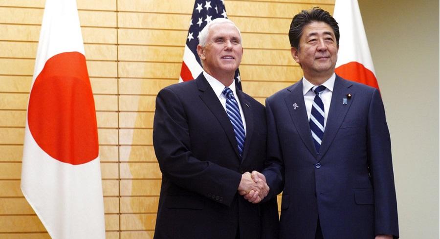 Phó Tổng thống Mỹ gửi cảnh báo tới Trung Quốc khi bay qua Biển Đông. Ảnh 1
