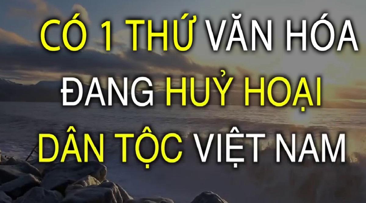 có một thứ văn hóa đang kìm hãm sức mạnh của người Việt. (Ảnh: Internet)