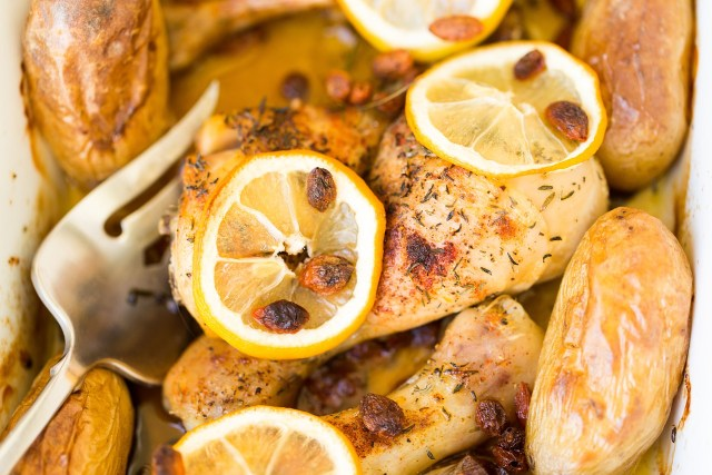 Lemon Chicken Tin Hut BBQ Catering