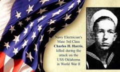Memory and Sacrifice of USS Oklahoma Sailor Charles H. Harris Honored at National Memorial Cemetery of the Pacific