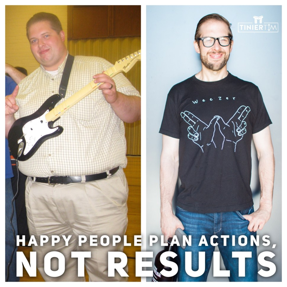 Action vs Results