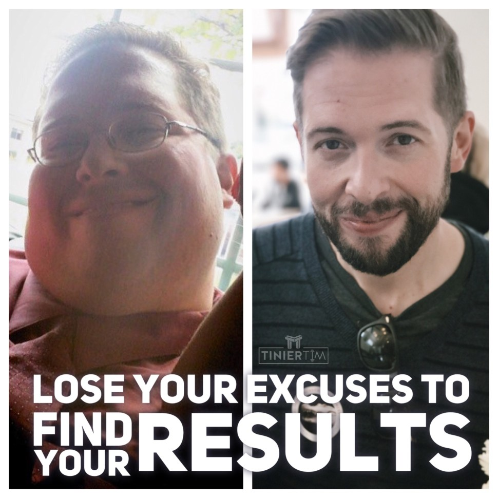 Lose excuses find results