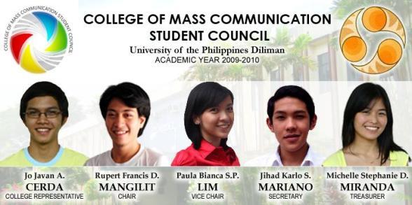 CMC Student Council, AY 2009-2010