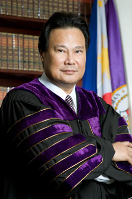 Former Supreme Court Cheif Justice Renato Corona is the first public official to be removed from office via the impeachment process. (photo source: Supreme Court website: sc.judiciary.gov.ph)