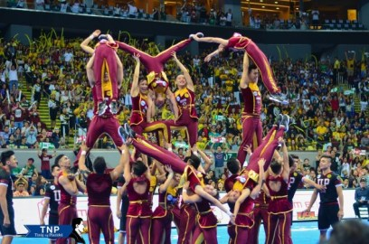 The UP Pep Squad placed third in this year's UAAP Cheerdance competition with 610.5 points.