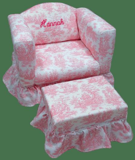 CRS-200 Chair s/Ruffled Skirt
