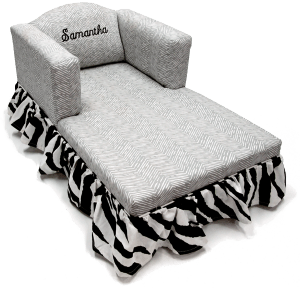 CL-500 Chaise Lounge w/Ruffled Skirt