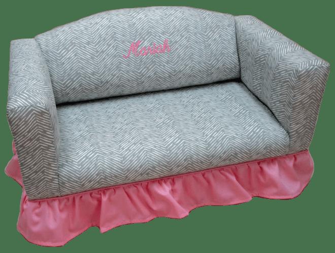 SRS-200 Sofa w/Ruffled Skirt