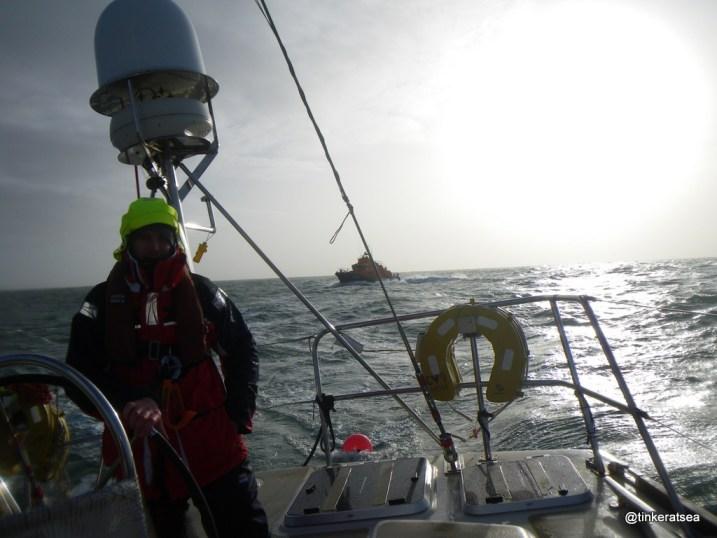 RLNI Weymouth ALB Arrives
