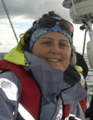 Christina Cunningham Clipper 13-14 Round the World Yacht Race Crew