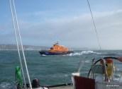 CV9 Qingdao, RNLI Weymouth Lifeboat, Clipper Crew Training