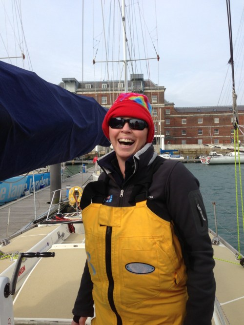 clipper 13-14 race, clipper 13-14 crew, training, emma pontin, instructor