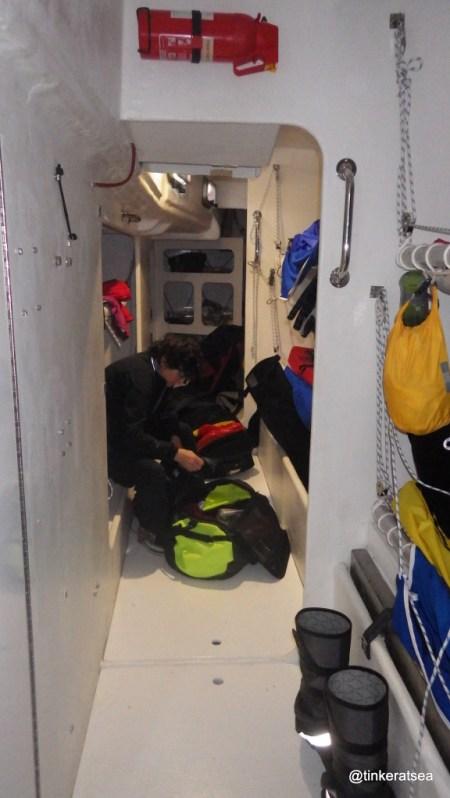 clipper 13-14 race, clipper 70, crew accommodation