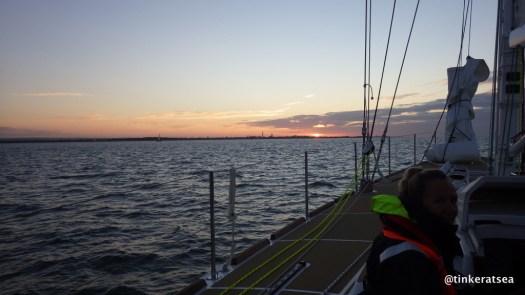 clipper 13-14 race, cv30, sunrise, solent