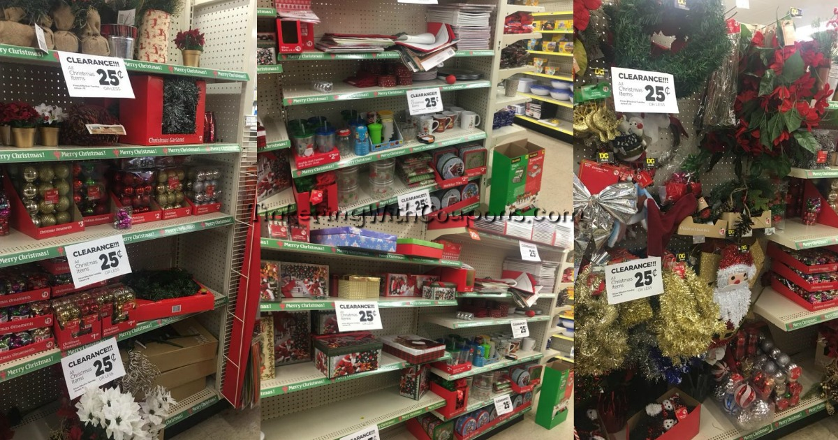 Is Dollar General Open On Christmas.Dollar General Christmas Clearance Tinkering With Coupons