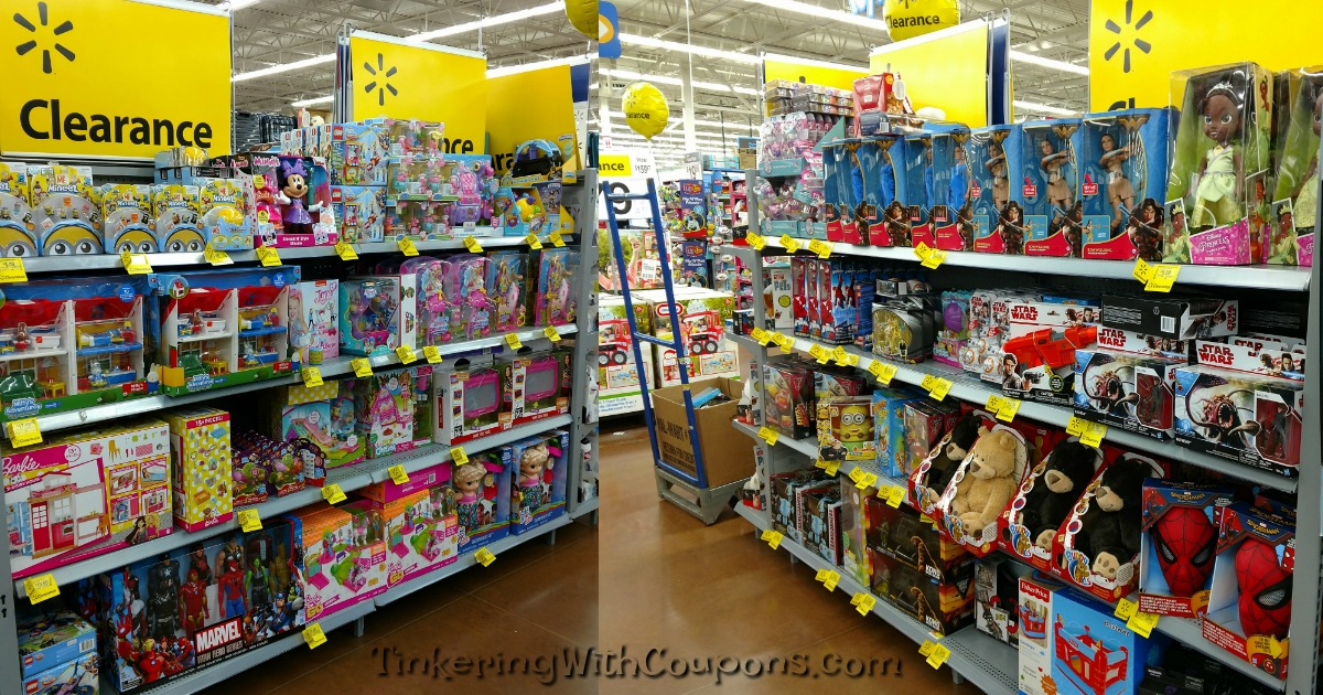 Walmart Toys Clearance : Walmart lots of clearance toys tinkering with coupons