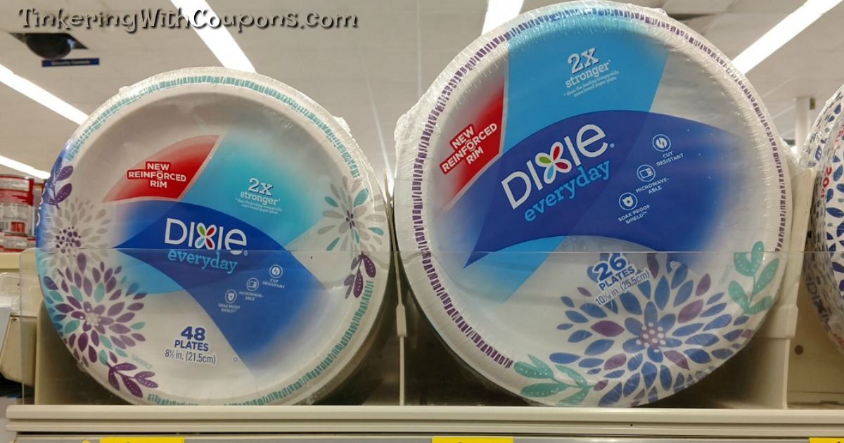 Dixie Paper Plates Walgreen's - Tinkering with Coupons