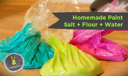 Homemade Paint Salt Flour Water Easiest Recipe Ever