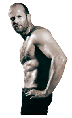 Jason Statham on the cover of Mens Health