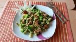 Tricolora fussili s brokolicovým pestom a kuracím mäsom