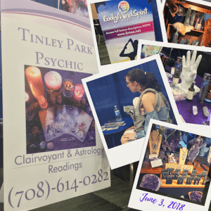 Tinley Park Mom Collage of 2018 Body Mind Spirit Expo in Tinley Park