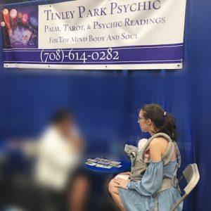 Tinley Park Mom Tarot Reading with Tinley Park Psychic at Body Mind Spirit Expo