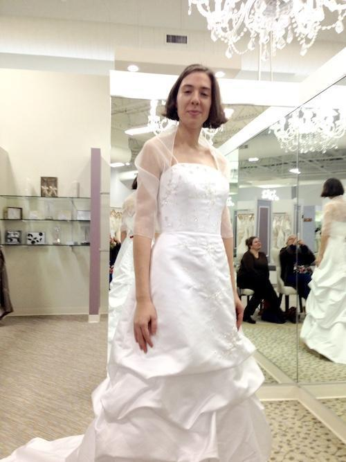 Wedding Dress Shopping January 2014
