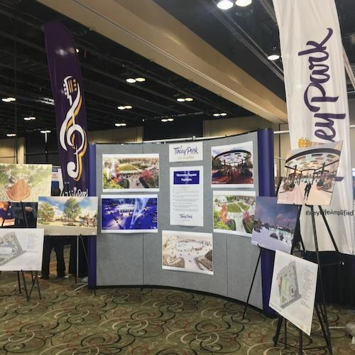 Redevelopment of Tinley Park Display at Discovery Tinley 2019