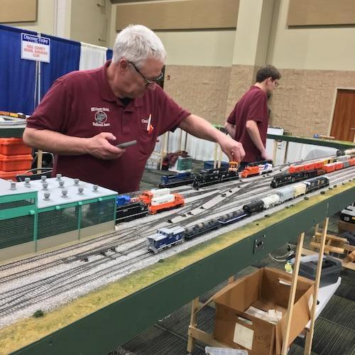 Will County Model Railroad Club at Discover Tinley 2019