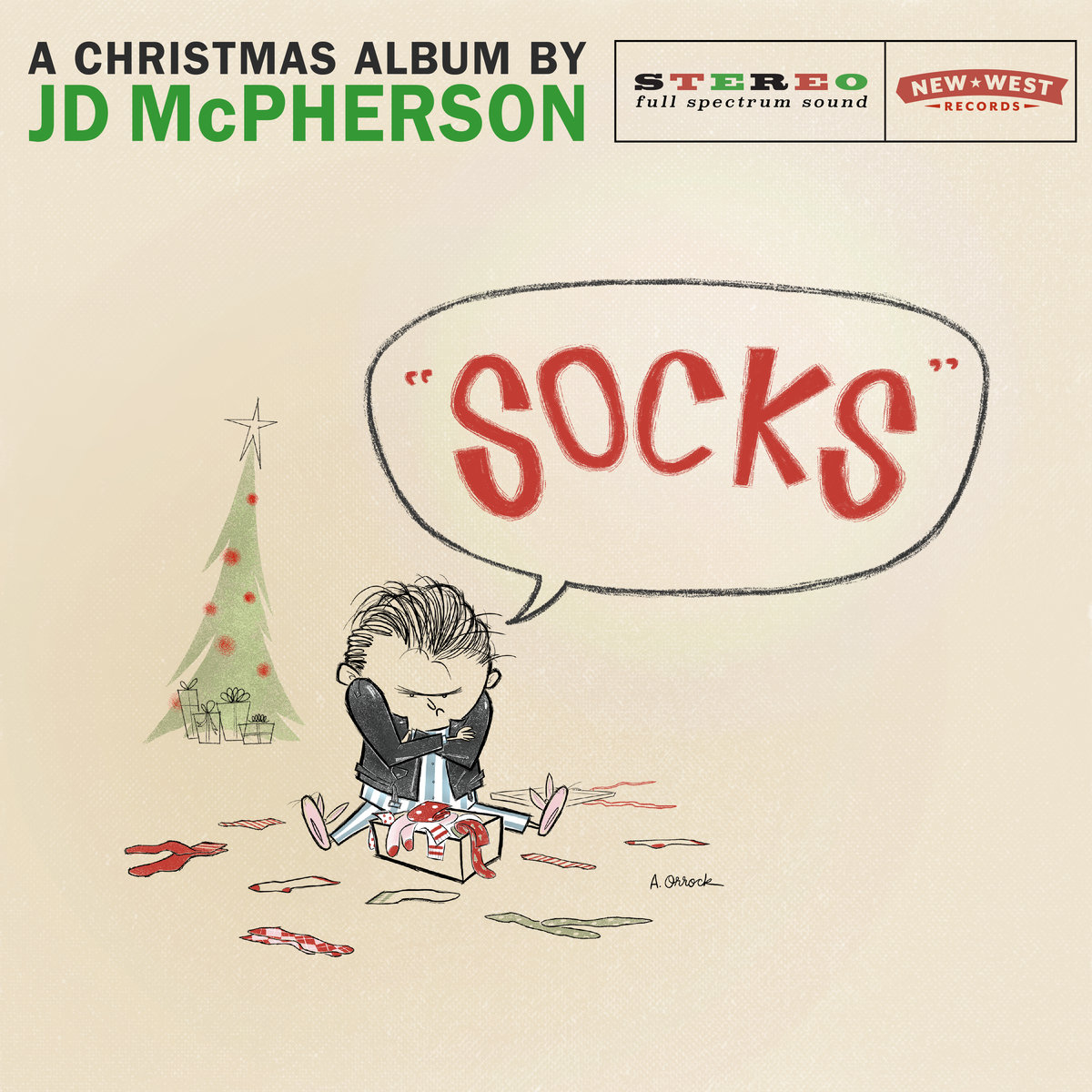 JD McPherson | Socks: A Christmas Album