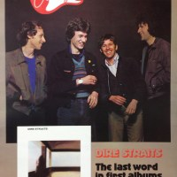 Dire Straits   Rare First Album Promo Poster