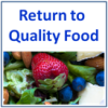 Return to Qlty Food - Icon
