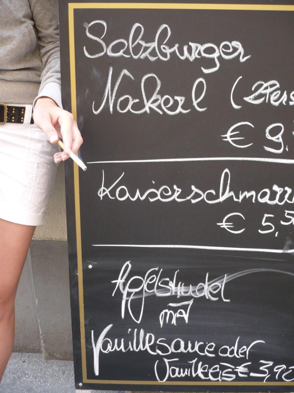 Salzburger Nockerl mit Rauch